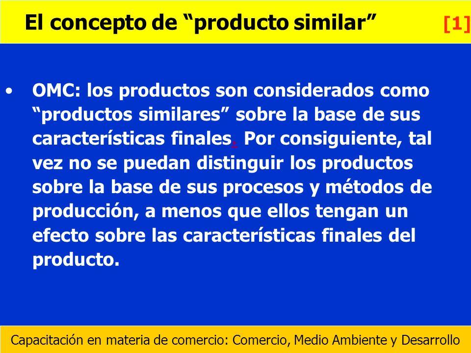 El concepto de producto similar [1]